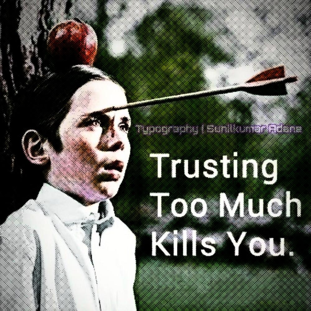Как убить доверие одним махом